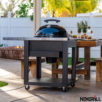 "Nexgrill 22"" (56 cm) Charcoal Kettle Barbecue With Cart"
