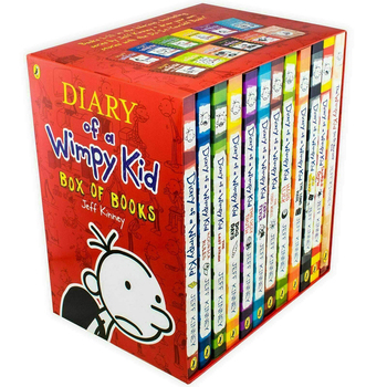 Diary of a Wimpy Kid 12 Book Boxset, Jeff Kinney (9+ Years)