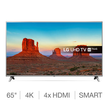 LG 65UK6500PLA 65 Inch Ultra HD 4K SMART TV
