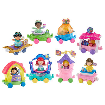 Fisher Price Little People Disney Princess Parade with 8 Figures (18+ Months)