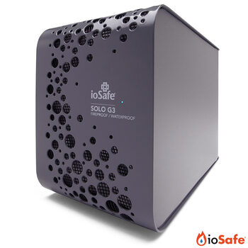ioSafe Solo G3 Disaster Proof Data Storage 4TB capacity includes 2 years Data Recovery Service