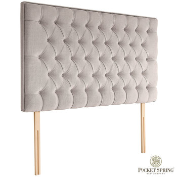 Pocket Spring Bed Company Florence Fabric Headboard in 3 Sizes