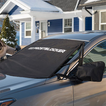 FrostBlocker® Windshield Cover with Wing Mirror Covers