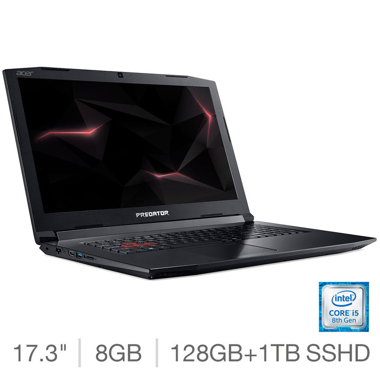 Acer Helios 300 PH317-51, Intel Core i5, 8GB RAM, 128GB SSD + 1TB HDD,  Nvidia GeForce GTX 1060 (6G), 17 3 inch Gaming Notebook | Costco UK