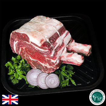 Taste Tradition Native Breed French Trimmed Beef Fore Rib, 2kg (Serves 5-8 people)