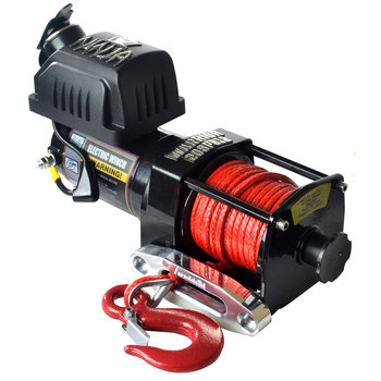 Warrior Ninja 2000 Synthetic Rope Electric Winch - Model 20SPA12