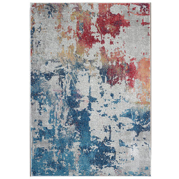 Ankara Brushstroke Design Rug in 2 Sizes