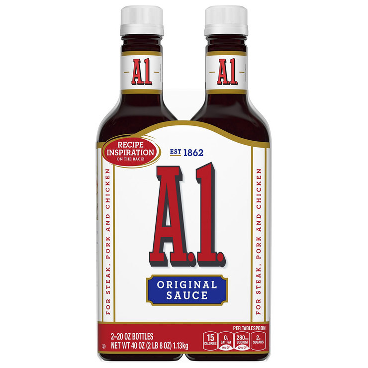 A1 Original Steak Sauce 2 X 567g Costco Uk