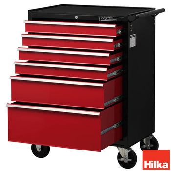 Hilka HD Pro Steel 6-Drawer Tool Chest Trolley