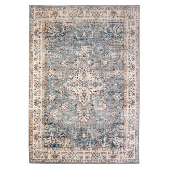 Empire Frosty Medallion Bordered Rug in 2 Sizes