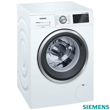 Siemens WM14T790GB IQ500, 9kg, 1400rpm Washing Machine A+++ Rating in  White