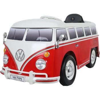 Rollplay VW Camper Van T212V Children's Electric Ride On With Remote Control (3+ Years)