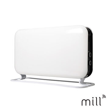 Mill Heat 2kW Convector Heater in White, SG2000MEC