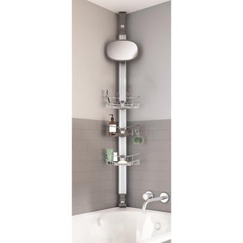 Artika Neptune Shower Caddy in Stainless Steel