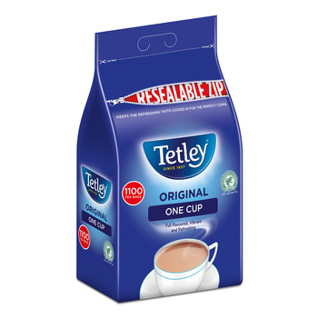 Tetley 1 Cup Tea Bags, 1100 Pack