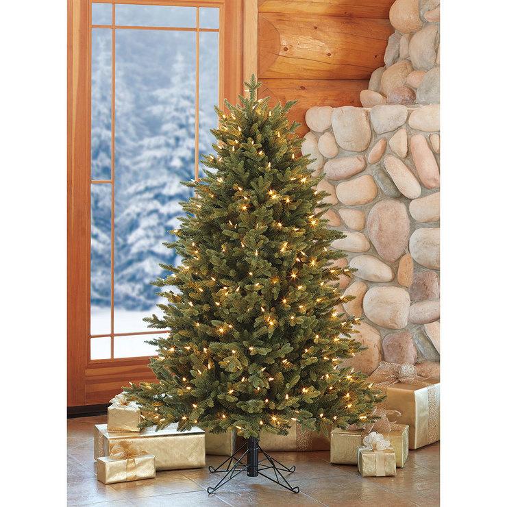 Costco Twinkling Christmas Tree: Aspen 5ft (1.5m) Pre-Lit 350 LED Dual Colour Artificial