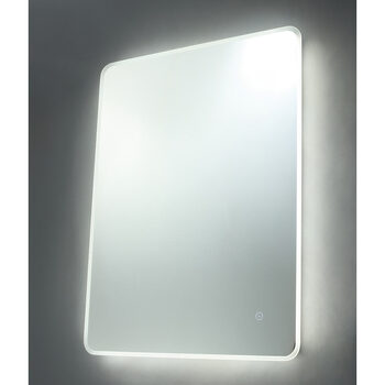SPA Nor 22W LED Mirror with Demist Pad, 80 x 60 x 4.6 cm