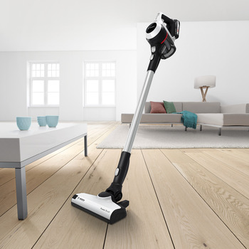 Bosch Serie 6 Unlimited ProHome Vacuum Cleaner, White BCS611GB