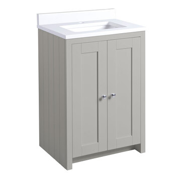 Tavistock Axbridge 60cm Freestanding Underslung Vanity with Basin in 2 Colours
