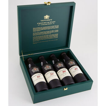 Taylor's Century of Tawny Port Gift Boxed, 4 x 37.5cl