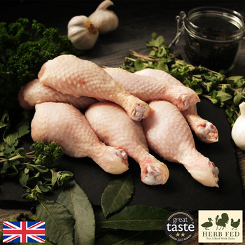 Herb Fed Free Range Chicken Drumstick Box, 4kg (Serves 14-16 people)
