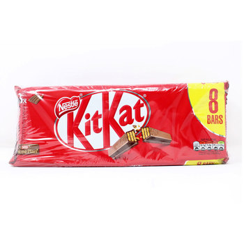 Nestle Kit-Kat 4 Finger Milk Chocolate Bar, 3 x 8 Pack