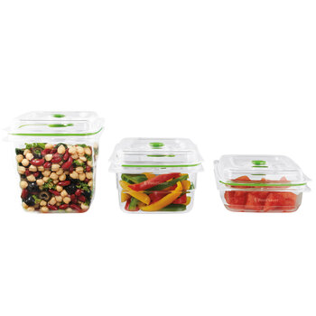 FoodSaver Fresh Container Combo 3 Pack, FFC020X-01