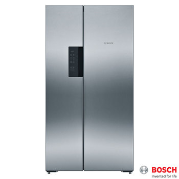Bosch KAN92VI35G, Side by Side Fridge Freezer A++ Rating in Stainless Steel