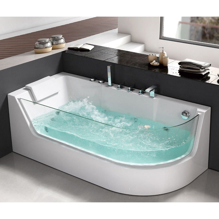 Platinum Spas Verona 1 Person Whirlpool Bath Tub in 2 Sizes | Costco UK