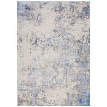 Silky Textures Blue Shimmer Rug in 2 Sizes