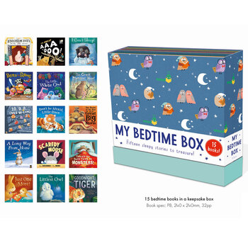 Keepsake Box with 15 Books - Bedtime or Fairy Tale (2+ Years)