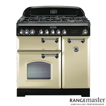 Rangemaster Classic 90cm Dual Fuel Range Cooker A Rated in 3 Colours