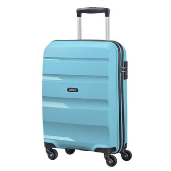 American Tourister Bon Air Carry On Spinner Case, Blue Topaz