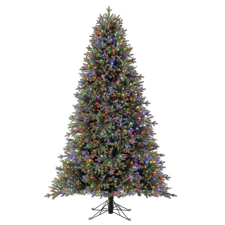 12 Ft Pre Lit Christmas Tree Costco: Aspen 7.5ft (2.2m) Pre-Lit 1,850 Micro-Dot LED Colour