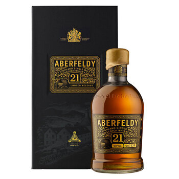 Aberfeldy 21 Year Old Whisky, 70cl