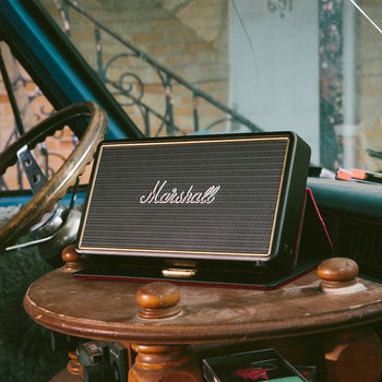 Marshall Lifestyle Stockwell Active Speaker with Case