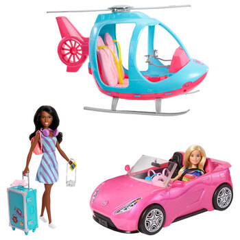 Barbie Girls Getaway Adventure With 2 Dolls, 2 Vehicles and Accessories (3+ Years)