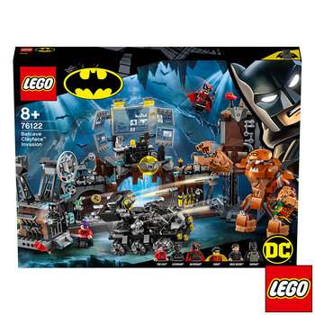 LEGO DC Batman Batcave Clayface Invasion - Model 76122 (8+ Years)