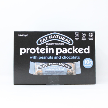 Eat Natural Protein Peanut & Chocolate Bars, 20 x 45g