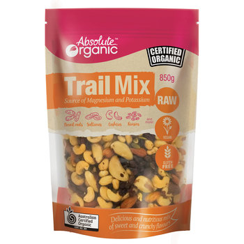 Absolute Organic Trail Mix, 850g