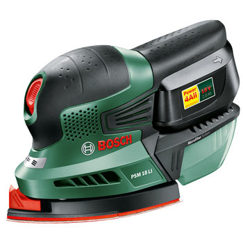 Bosch PSM 18 LI Cordless Lithium-Ion Multi Sander with Battery Pack (1 x 2.0Ah)