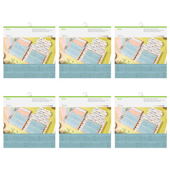 Cricut Deluxe Paper Walk in the Park Bundle - 6 Pack (60 Sheets)