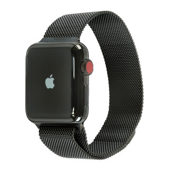 Apple Watch Series 3, MR1Q2B/A, Space Black Stainless Steel Case with Milanese Loop, 38mm, GPS + Cellular