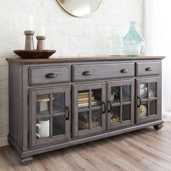 Pike & Main Wesley Grey Sideboard