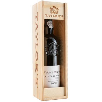 Taylors 2003 Vintage Port, 75cl with Gift Box
