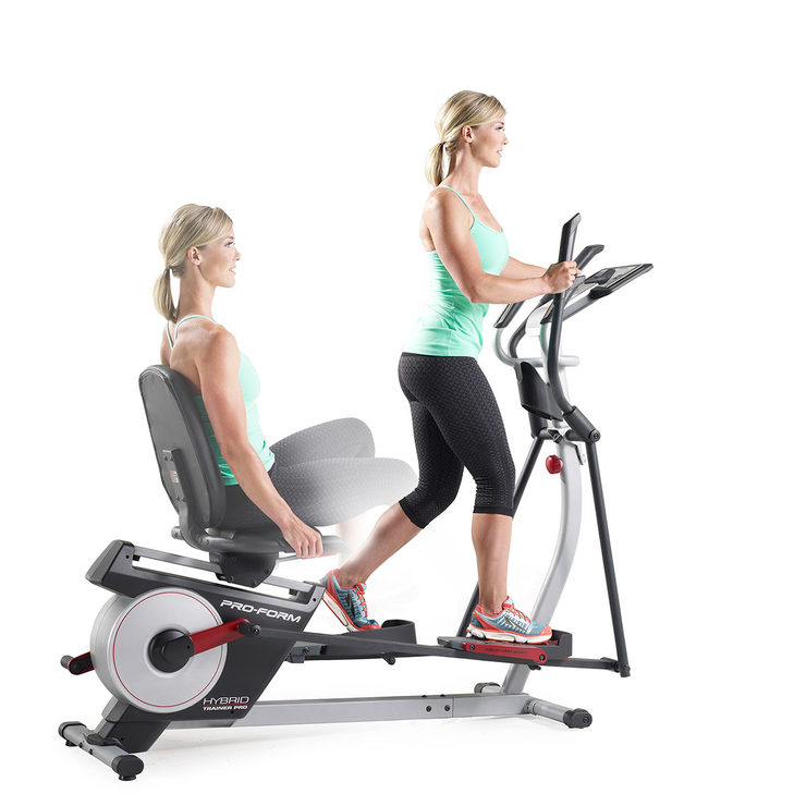 Proform Hybrid Trainer Pro Elliptical / Recumbent Bike