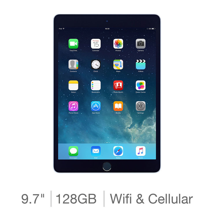 Apple 2018 iPad 128GB with Built-in WiFi and Cellular  3874e35704a3