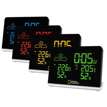 National Geographic Multi-Colour Screen Weather Station