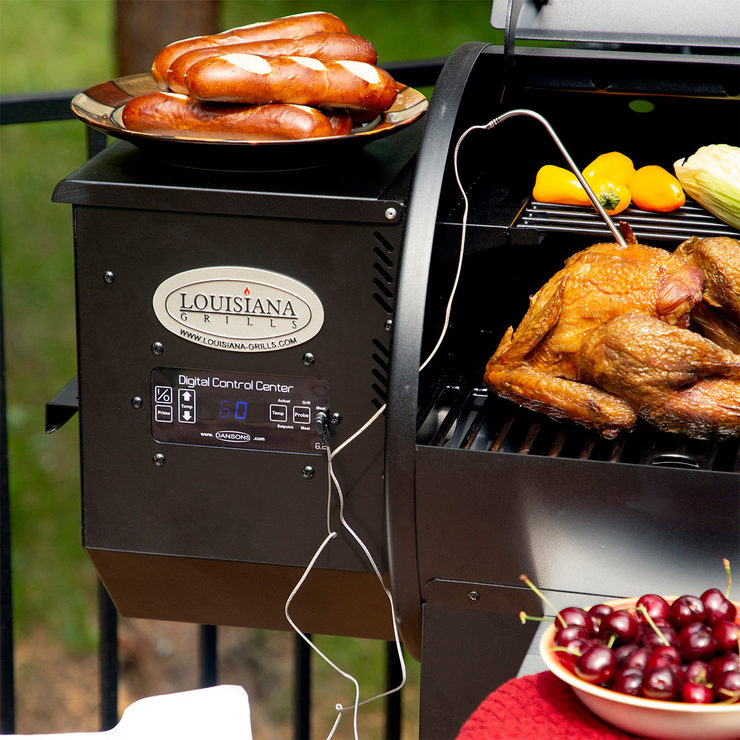 Louisiana Grills 900 Series Electric Wood Pellet Grill And ...