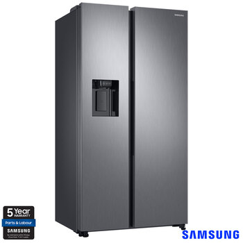 Samsung RS68N8340S9/EU, Side by Side American Style Fridge Freezer A+ Rating in Matte Stainless Steel